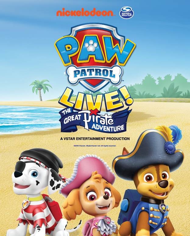 PAW Patrol Live! The Great Pirate Adventure Apr 10-11