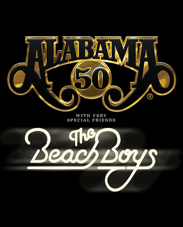 Alabama with very special friends The Beach Boys Jul 31