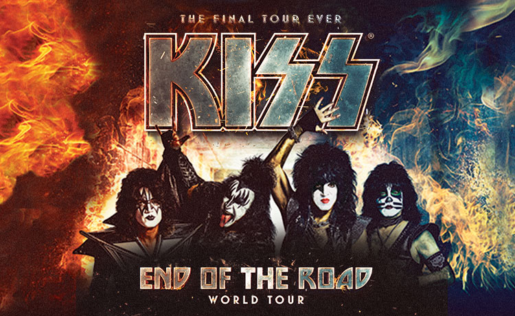 KISS: End of the Road World Tour Feb 19