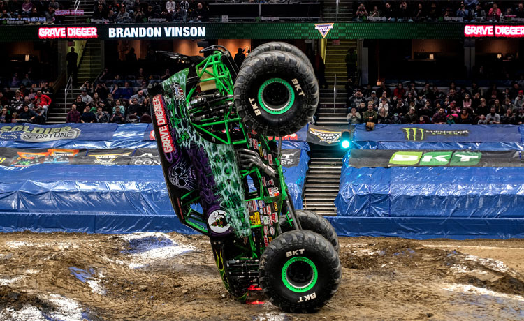 Monster Jam Feb 22-23