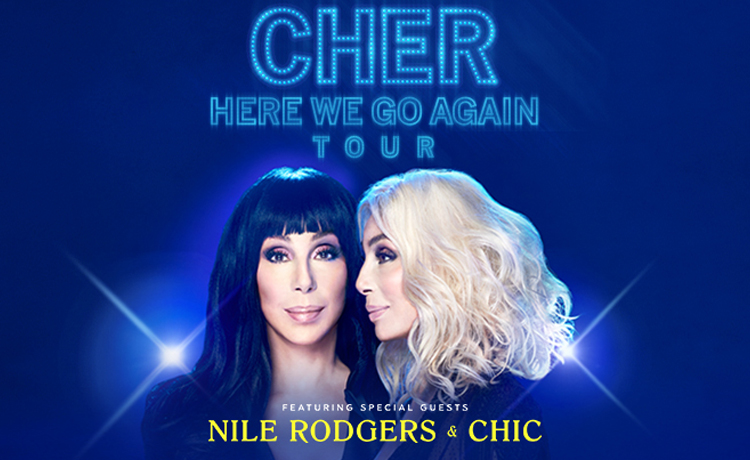 POSTPONED to TBA </br> Cher: Here We Go Again Tour  Sep 30